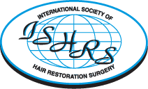 Our hair transplant doctors are members of ISHRS